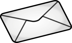 Image of a letter or envelope